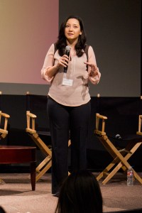 Cultural speakers · Yasemin Yilmaz, co-founder of the Los Angeles Turkish Film Festival, spoke with students about the global environment. - Kevin Fohrer | Daily Trojan