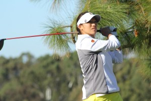 Walk in the park · Sophomore Annie Park fired a 4-under 68 in the second round of the Farms Invitational yesterday, tying for a team best. Park and freshman Karen Chung were the only teammates to shoot in the 60s. - Courtesy of USC Sports Information