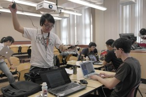 Hackers' delight · Students from a variety of different schools in California, such as USC and Stanford, attended HackSC which took place from March 7-9. The coders hacked for 36 hours straight.  - Christine Yoo | Daily Trojan