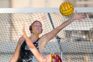 Super saver · Senior goalie Flora Bolonyai tied USC's all-time saves record in the Women of Troy's 6-4 loss to UCLA Wednesday night. The Hungarian's 838 career saves earn her a share of Bernice Orwig's record. - Ralf Cheung   Daily Trojan