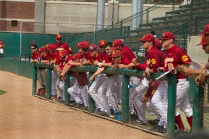 Home-field advantage · The USC baseball team has performed well in front of its home fans this season, with a 16-9 record at Dedeaux Field. - Tucker McWhirter | DailyTrojan