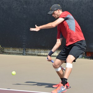 Best of the best · Junior Yannick Hanfmann upset UCLA's Clay Thompson, the No. 1 singles player in the country, during the Trojans' victory over the Bruins last week. Hanfmann is now 18-5 in singles play this season. - Jazmine Rolle   Daily Trojan