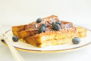 "Brunch for a bunch · These easy to follow, inexpensive recipes for French toast, granola and eggs are a surefire way to impress your friends at an Easter brunch this Sunday, and help you save some money. These recipes were featured on the recipe and travel blog ""Let's Live La Vida."" - Photo courtesy of Lena Tavitian"