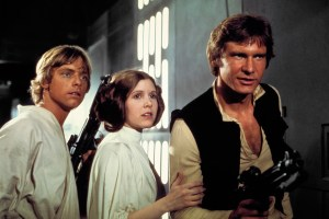 The stars align · The stars align · Actors Mark Hamill, Carrie Fisher and Harrison Ford have all been spotted in London in the weeks leading up to the official production start date of J.J. Abrams' Star Wars Episode VII.  - Photo courtesy of Lucasfilm