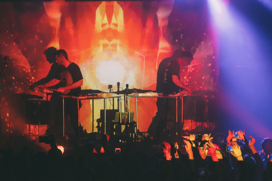 ODESZA performs at the Glass House in Pomona on Thursday, April 10, 2015. Mariya Dondonyan | Daily Trojan