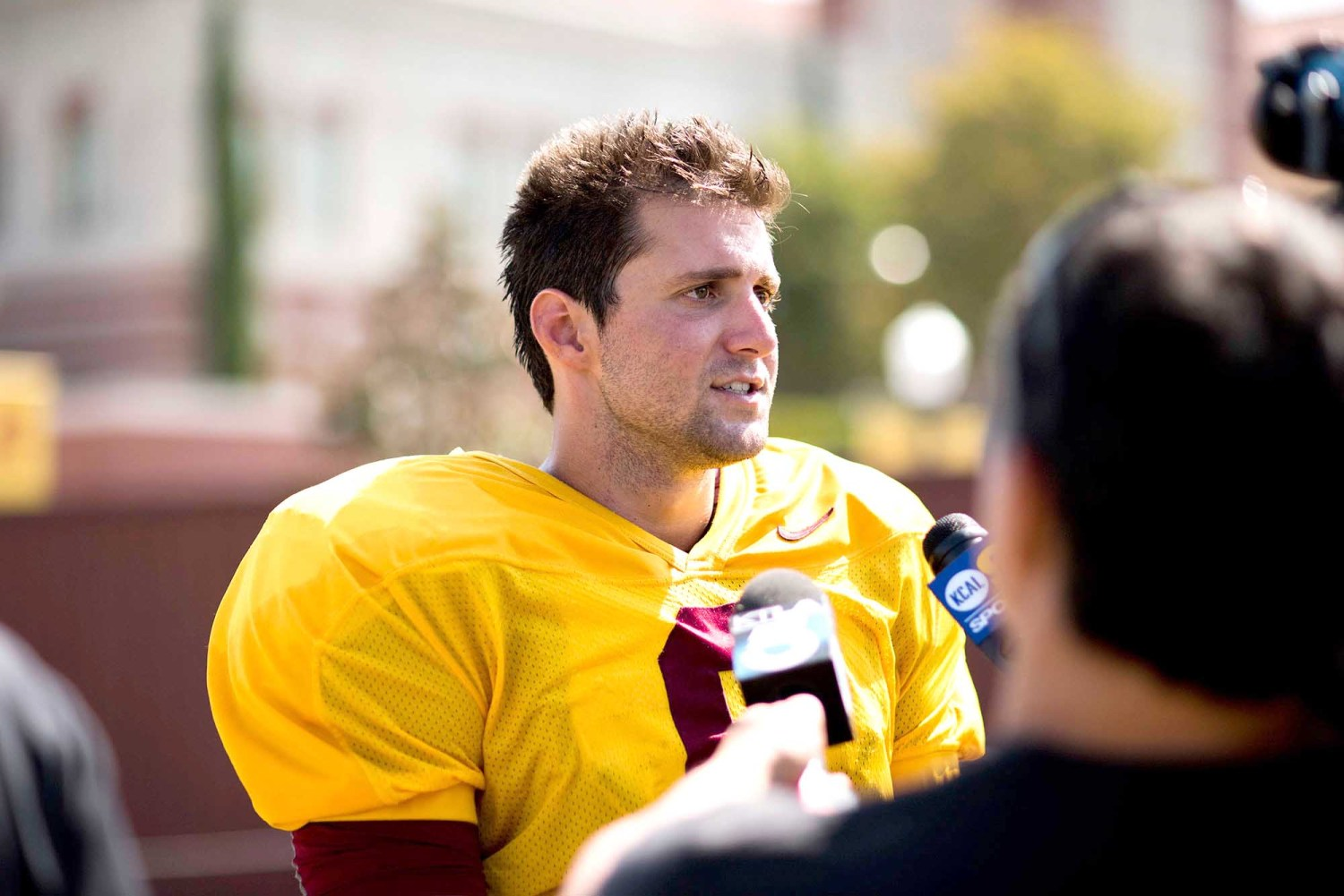 Scoreboard · Redshirt senior quarterback Cody Kessler carries a lot of responsibility to put points on the board for the USC offense this fall. - Mariya Dondonyan | Daily Trojan