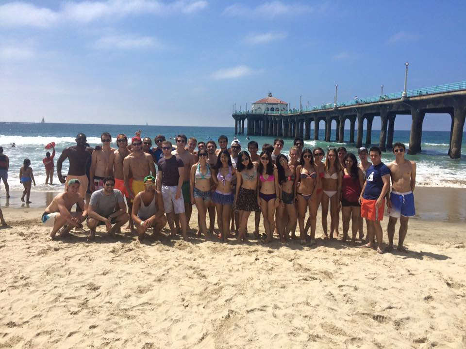 Being able to go to a beach near school is a new opportunity for exchange student Grace Lam from Hong Kong. Grace Lam   Daily Trojan