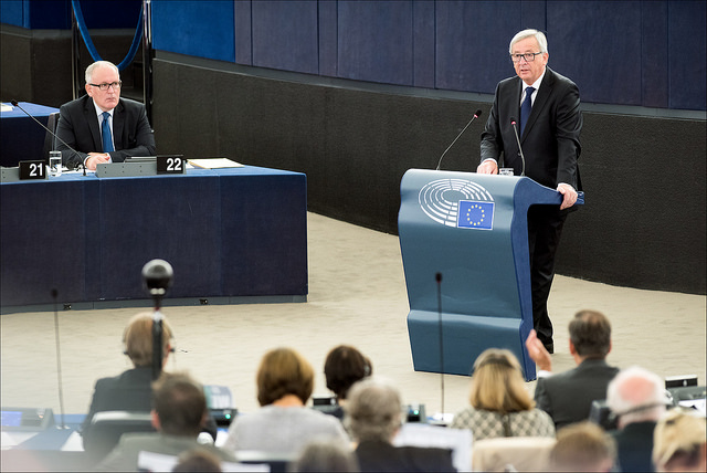 Study abroad blogger Charlotte Wulff has had to watch European Commissioner President Jean-Claude Juncker's decisions unfold on TV, rather than experience the migrant crisis first hand in Europe. Flickr/CreativeCommons