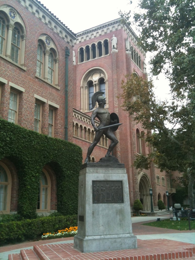 There's a lot to be thankful for at USC, including our win over UCLA! Flickr/CreativeCommons
