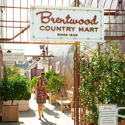 Brentwood Country Mart makes for a great day trip to shop and eat to your heart's content. Christina Nursalim | Daily Trojan