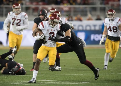 Tal Volk   Daily Trojan Oh Captain! My Captain! · Junior cornerback Adoree' Jackson was one of four captains named for the upcoming season at Wednesday's practice. Jackson is one of USC's most athletic and dynamic players.