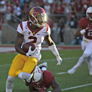 Emily Smith | Daily Trojan Adoree' on offense? · Junior Adoree' Jackson may suit up as a wide receiver in addition to his defensive and kick return duties.