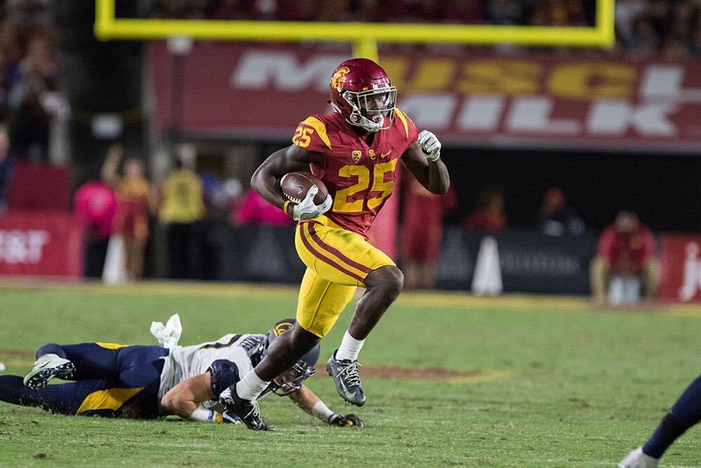 Running Back Ronald Jones Ii Declares For Nfl Draft Daily Trojan