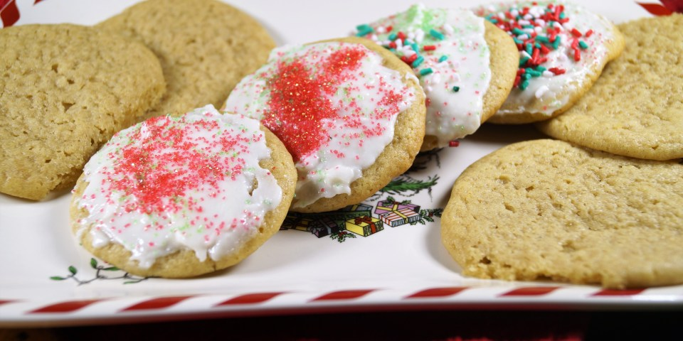 Soft Vegan Sugar Cookies