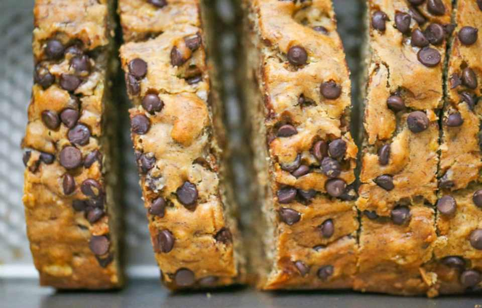 Best Ever Banana Chocolate Chip Bread