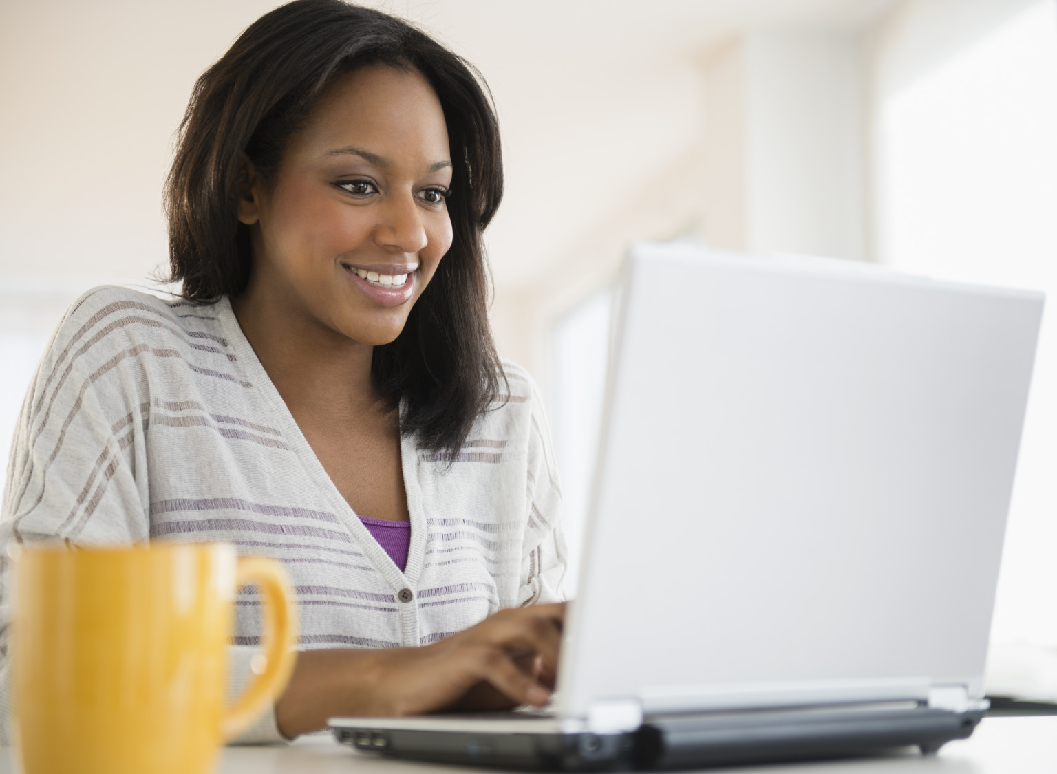 Image result for artistic african american woman at computer