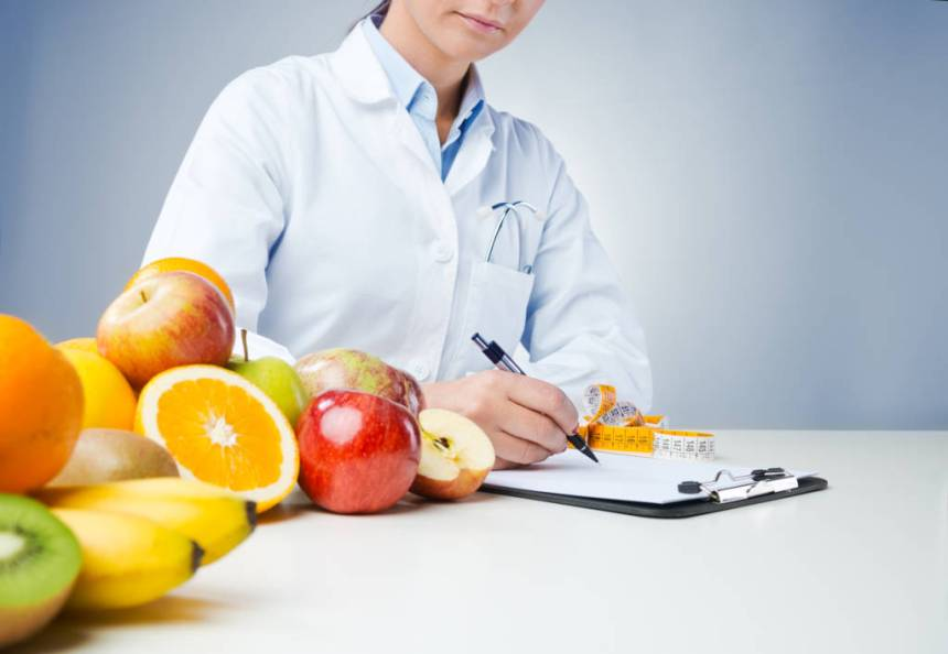 healthy food, doctor