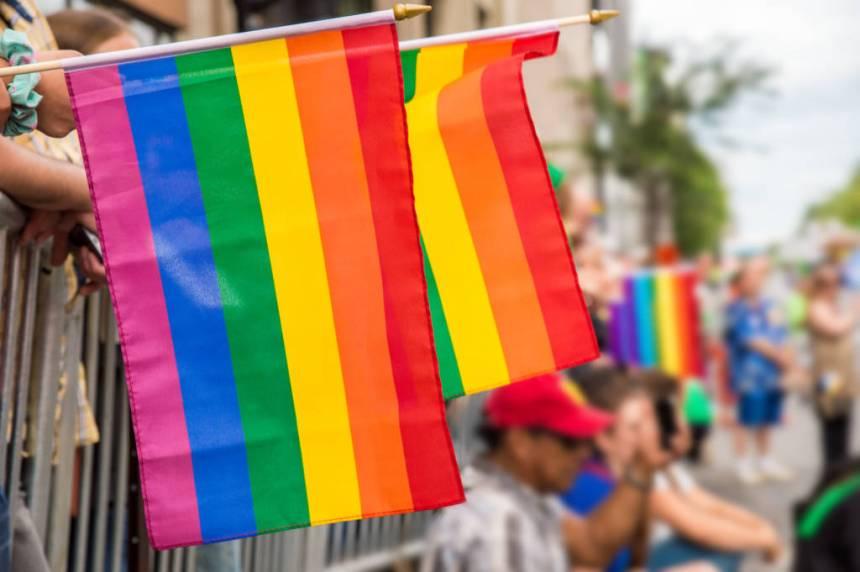 Pride flag, rainbow flag