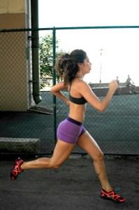 Layla Luciano Running