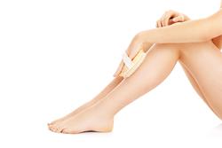 skin brush legs