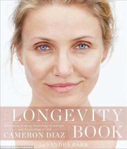 The Longevity Book, Cameron Diaz cover