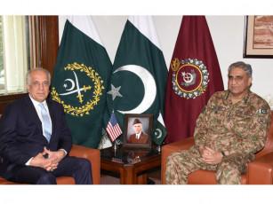 Army cheif and Khalil Zad
