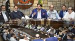 سینیٹ کی قائمہ کمیٹیوں کے چیئرمینوں کے وفد کی ایف پی سی سی آئی کے کیپٹل آفس اسلام آباد آمد