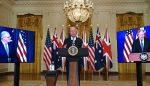 چین کے خلاف امریکا، برطانیہ اور آسٹریلیا کا دفاعی معاہدہ