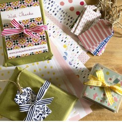 Striped Grosgrain with Gifts