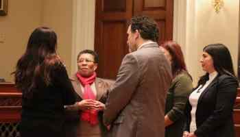 Rep. Marcia Fudge at Native American challenges hearing