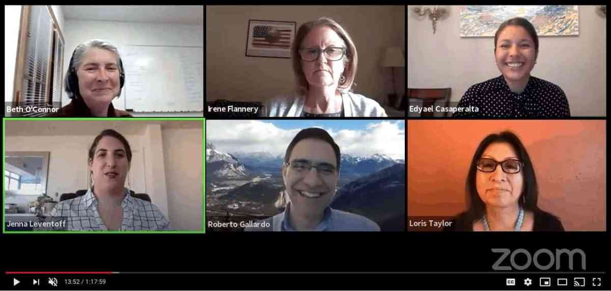 A snapshot from the livestream conversation on Rural Broadband.