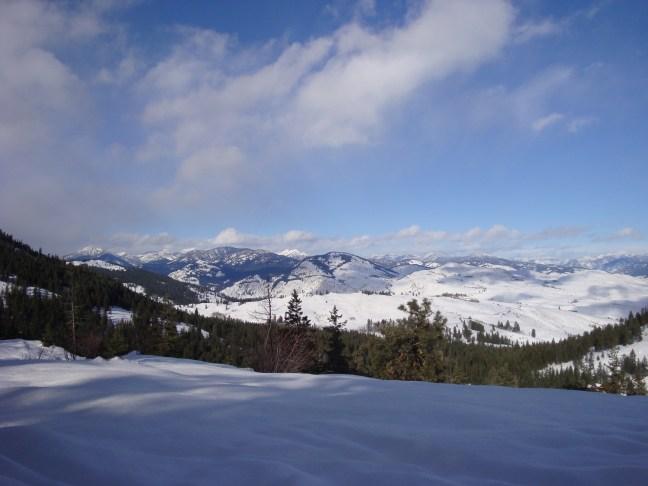 Photo of Paradise Valley, Washington in the snow.