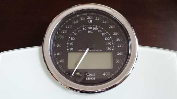 ozeri scale display