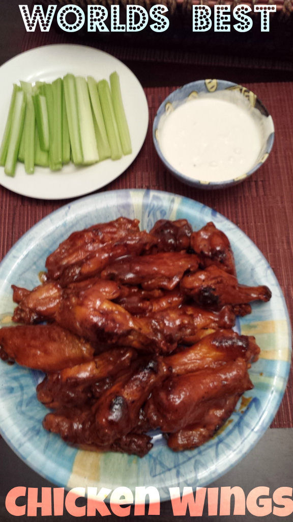 World's best home made chicken wings