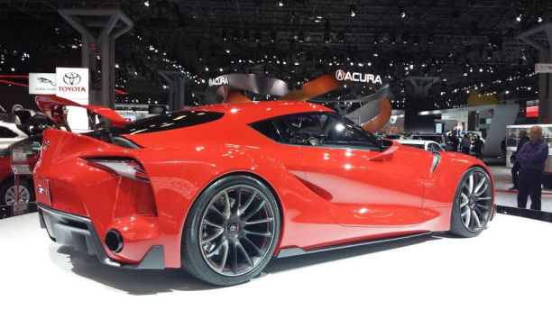 The New York International Auto show Toyota prototype ft-1