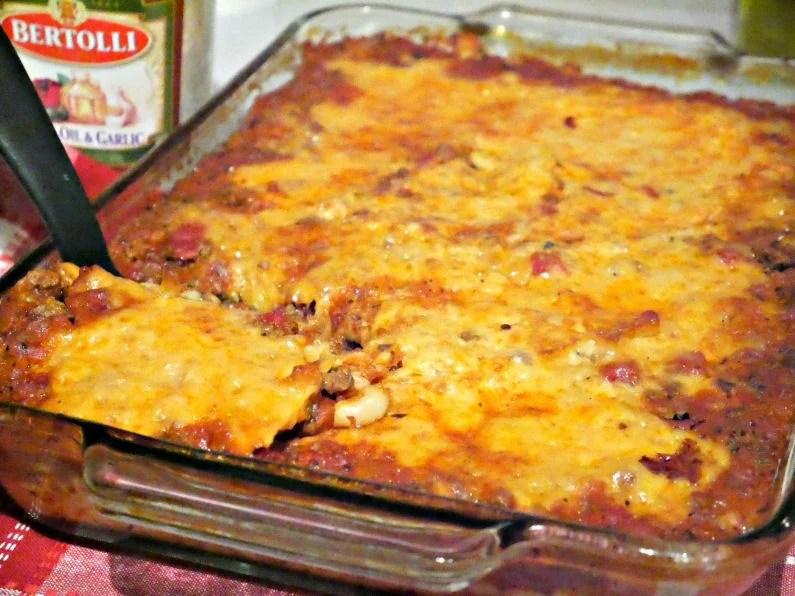 Easy Macaroni Casserole