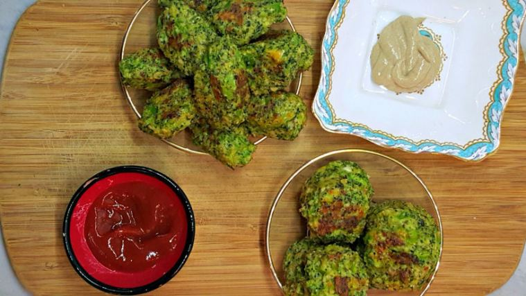 broccoli tots are good with ketchup. But also divine with Mustard!