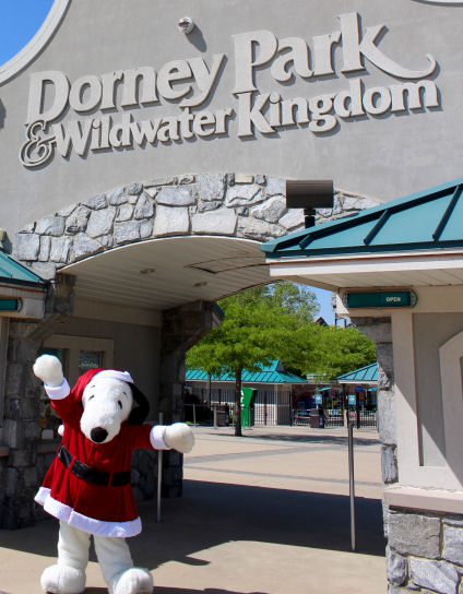 christmas celebration at dorney park