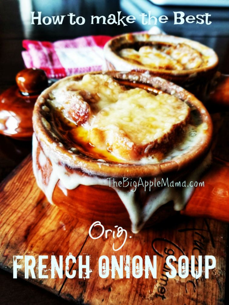 How to make the Best Gourmet-style French onion soup