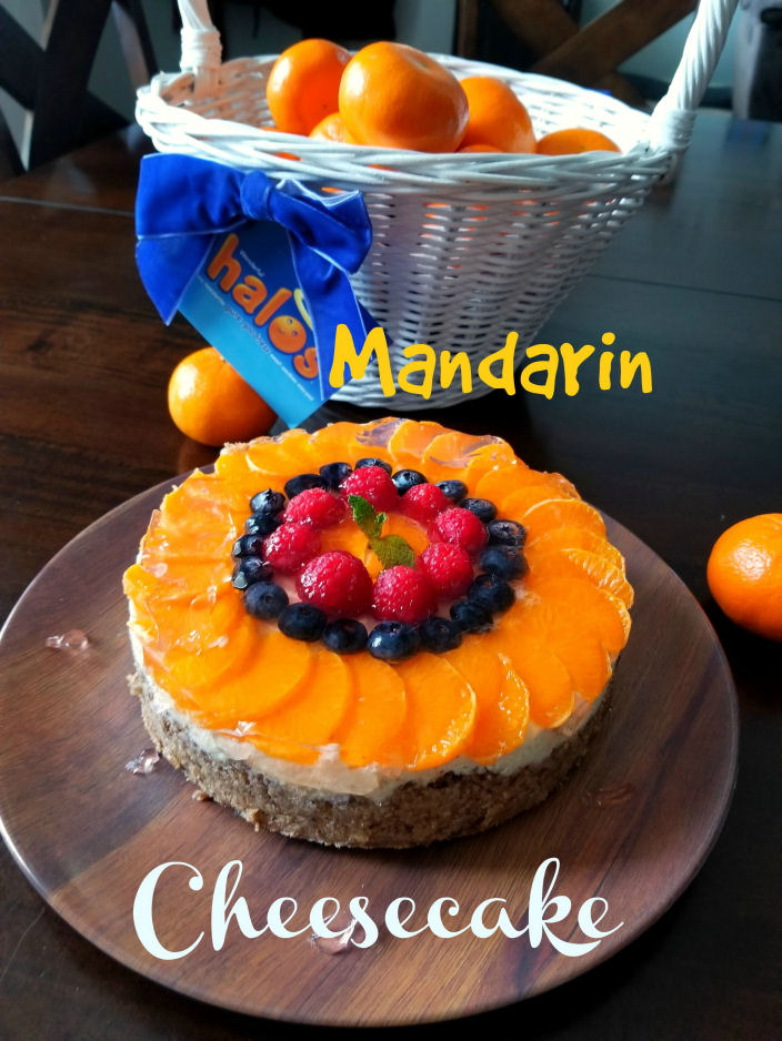 Mandarin Cheesecake, Pressure cooker recipe