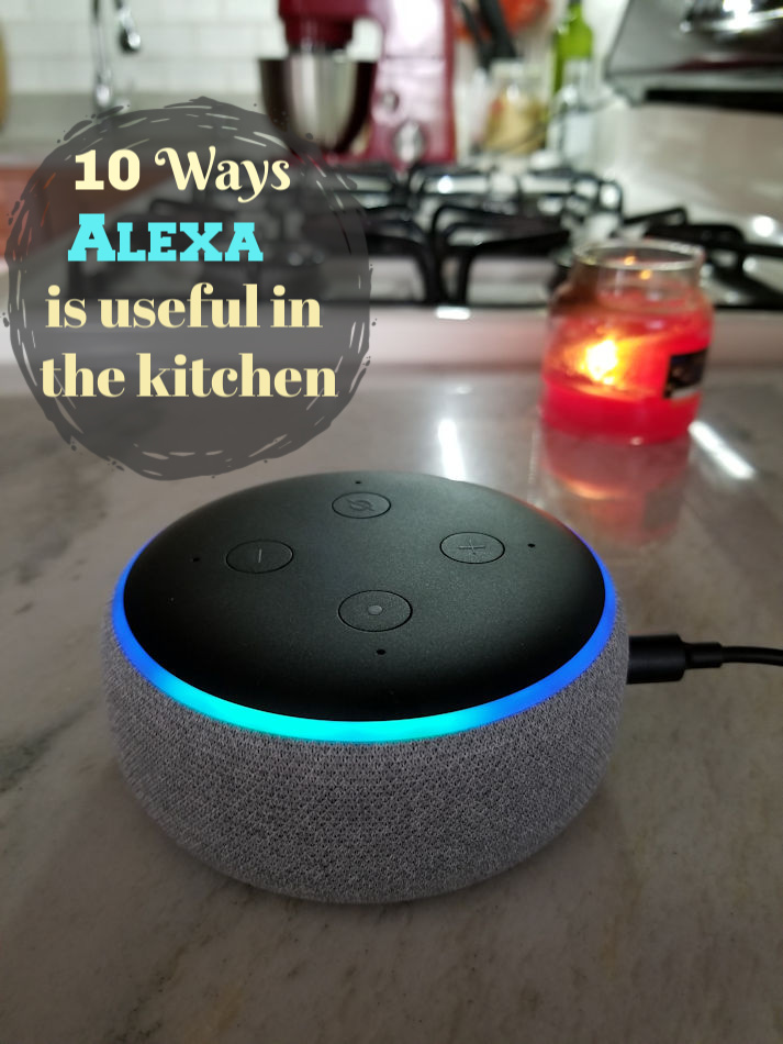 10 Ways Amazon's Alexa is useful in the kitchen