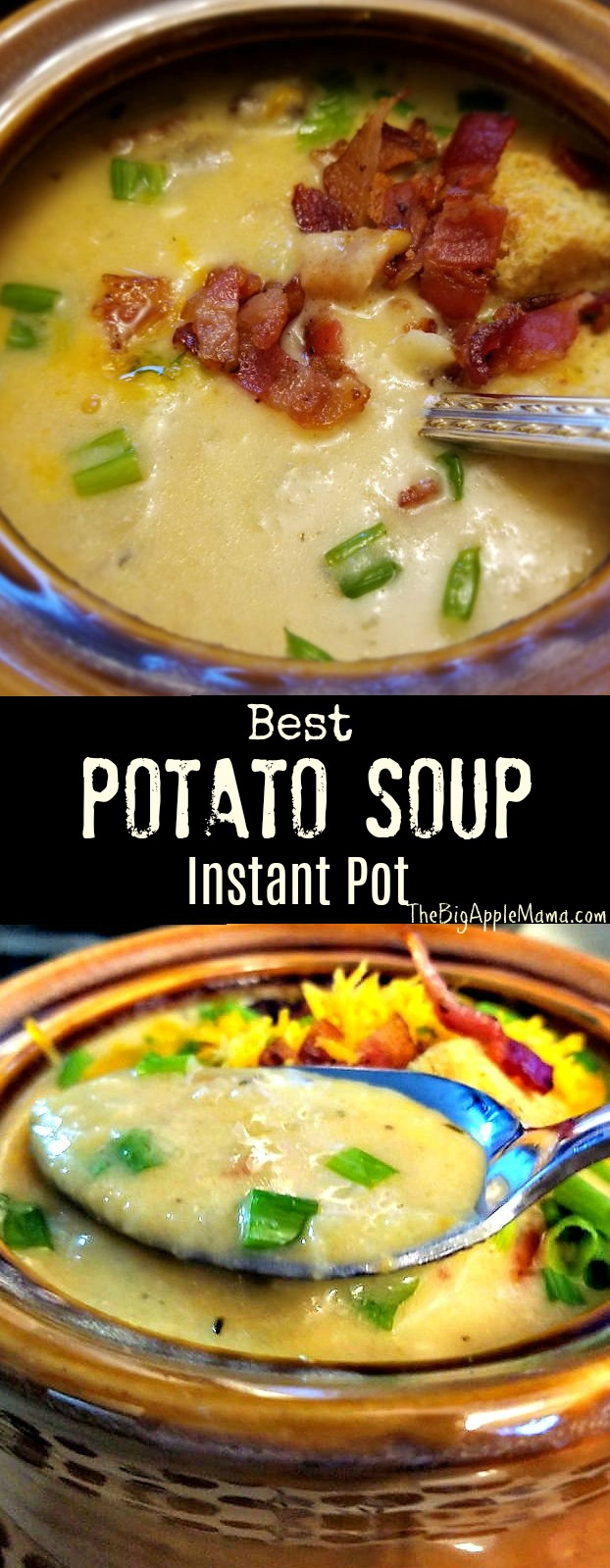 Best Loaded Potato Soup Instant Pot