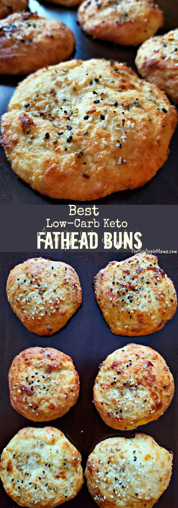 Best Keto Low Carb Bread Buns Made From Fathead Dough