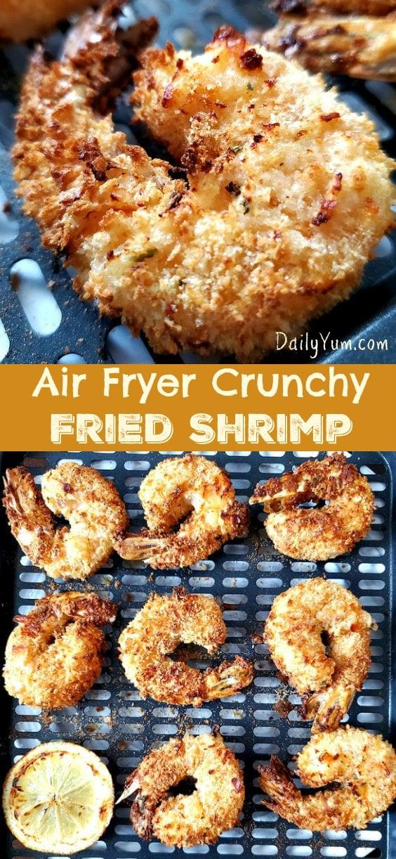Air Fryer Crunchy Fried Shrimp Recipe