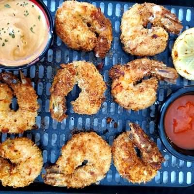 Air Fryer Fried Shrimp