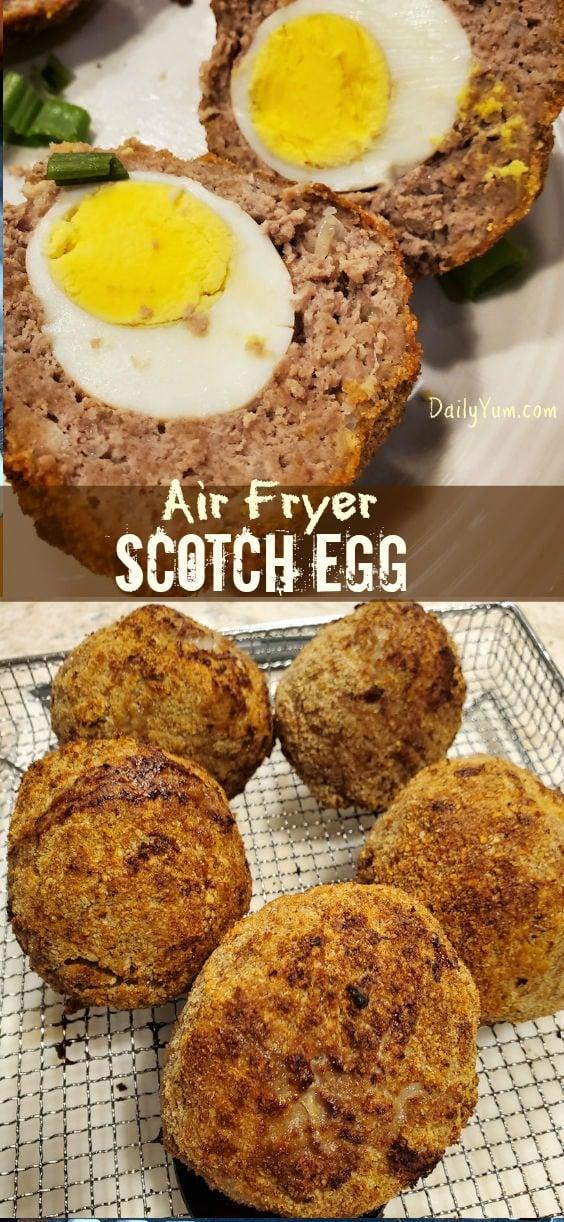 Air Fryer Scotch egg Recipe