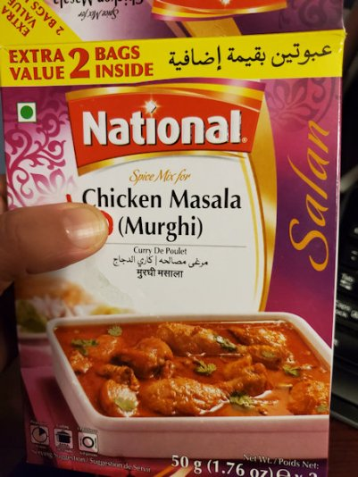 Chicken Masala (Murghi) spice mix