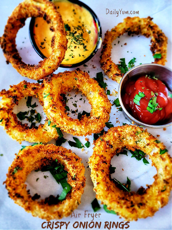 Air Fryer Crispy Onion rings