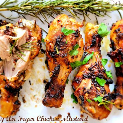 Chicken with mustard sauce recipe
