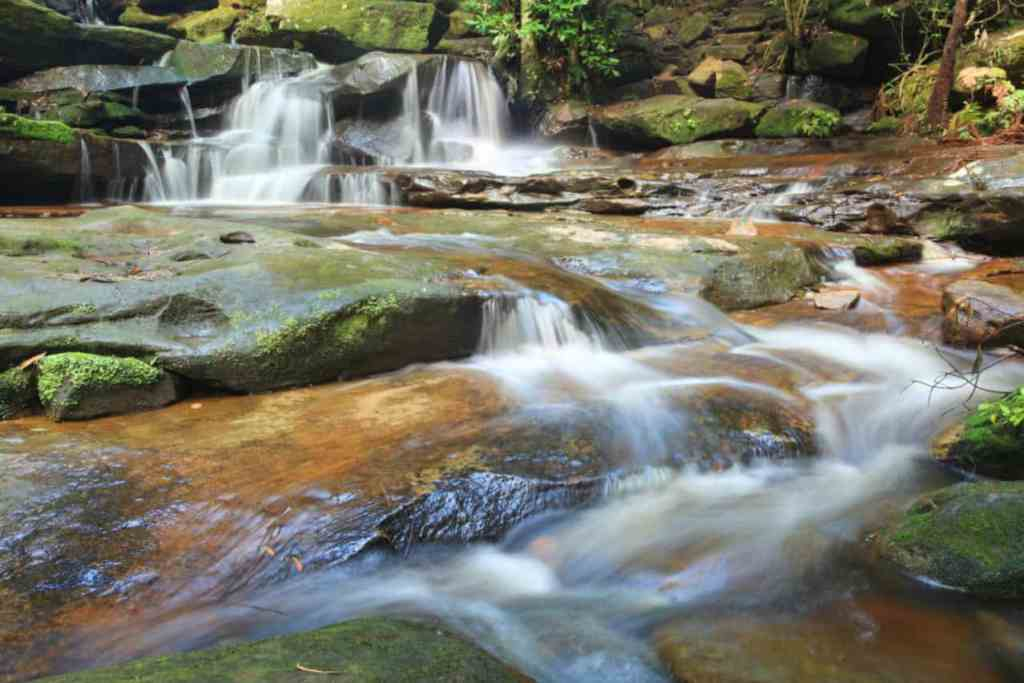 18 Waterfalls and little streams at Somersby Falls, NSW